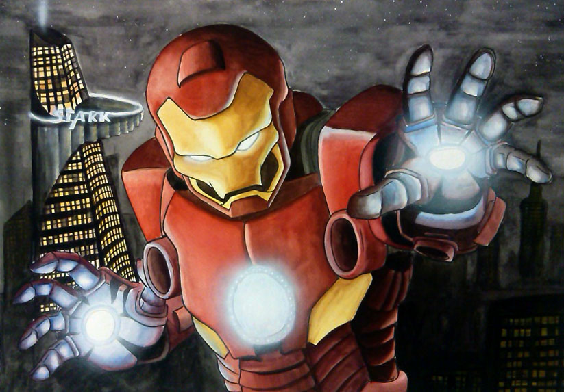 Edit Iron man